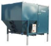 Ventilasjonsanlegg, patronfiltre og malefiltre