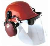 Supervizor visir for hjelm