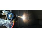 Metalliseringspistoler - flamme