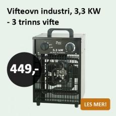 Vifteovn 3,3 kw
